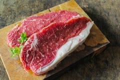 小条腰部牛肉 免版税库存照片