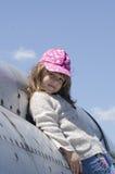 小模式女孩 免版税库存照片
