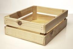 小模式条板箱 库存图片