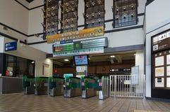 小樽火车站,北海道,日本 库存照片