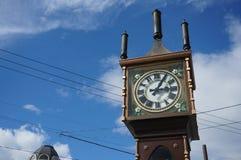 小樽蒸汽尖沙咀钟楼 库存图片