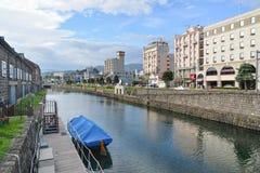 小樽运河,北海道,日本 免版税库存照片