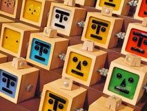 小樽-逗人喜爱的礼物在音箱博物馆 免版税图库摄影