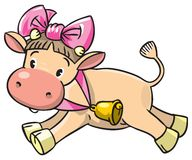 小母牛 库存图片