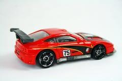 小汽车赛玩具 图库摄影