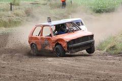 小汽车赛荷兰 库存照片