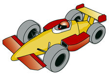 小汽车赛 向量例证