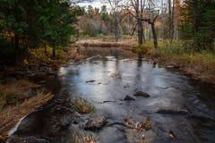 小河在公园 库存照片