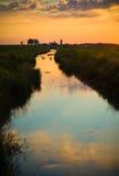 小河在国家 免版税库存图片