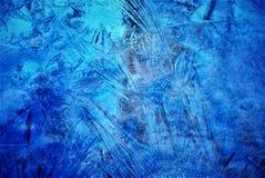 冻小河在我的后院 免版税库存图片
