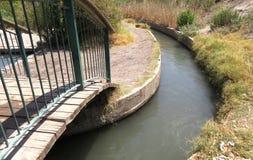 小河域 库存图片