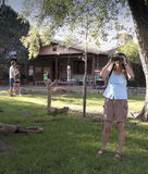 洞小河大农场场面,门户,亚利桑那 免版税库存图片