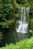 小河秋天更低的公园银南状态 库存照片