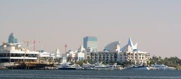 小河迪拜 免版税库存图片