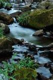 小河水流量 库存图片