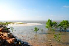 小海岛。 免版税库存照片