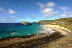 小海岛的岩石 库存图片