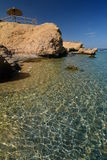 小海湾和珊瑚礁 Sharm El Sheikh 红海 埃及 图库摄影