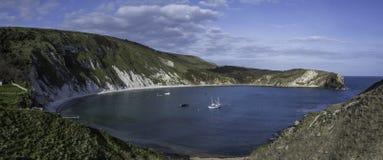 小海湾多西特lulworth 免版税图库摄影