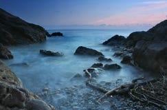 小海湾海洋 库存图片