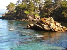 小海湾灰狼停放点捕鲸船 库存图片