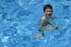 小游泳者 免版税库存图片