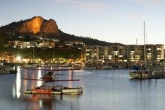 小游艇船坞在汤斯维尔,昆士兰,澳大利亚 免版税库存图片