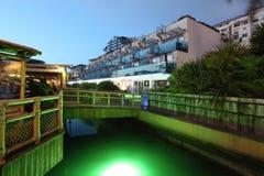 小游艇船坞在直布罗陀 免版税图库摄影