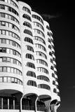 小游艇船坞城市公寓房在芝加哥 免版税库存图片
