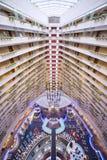 小游艇船坞文华酒店新加坡内部 免版税库存图片