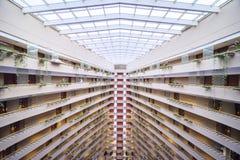 小游艇船坞文华酒店新加坡 图库摄影