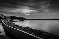 小游艇船坞重建 免版税图库摄影