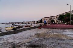 小游艇船坞重建 库存照片