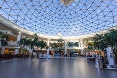小游艇船坞购物中心在科威特 库存图片