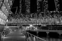 小游艇船坞购物中心 免版税图库摄影