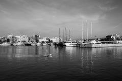 小游艇船坞Zeas 比里犹斯 希腊 库存图片