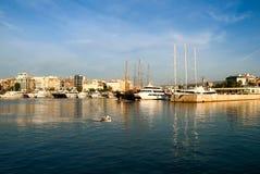 小游艇船坞Zeas Pireas 希腊 免版税库存照片