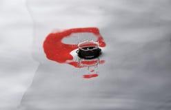 小滴标志日本人水 库存照片