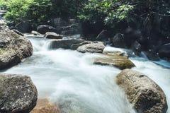 小瀑布在国家公园 免版税图库摄影
