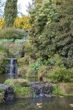 小瀑布在英国乡下 图库摄影