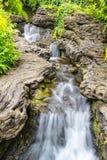 小瀑布在巴黎迪斯尼乐园 免版税库存照片