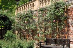 小瀑布庭院在布拉格 免版税库存图片
