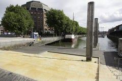 小瀑布步,布里斯托尔港口,英国 免版税库存照片