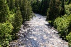 小瀑布河,明尼苏达 库存照片