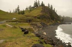 小瀑布码头,诺福克岛 免版税库存图片