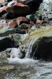 小瀑布落Ouray, CO 免版税库存图片