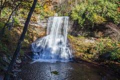 小瀑布,贾尔斯县,弗吉尼亚,美国 免版税库存照片