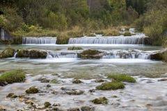 小瀑布, Fischlein谷,南蒂罗尔 库存照片