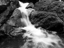 小瀑布 库存照片