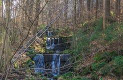 水小瀑布 库存图片